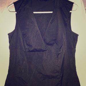 Black dress tank, size 11/12